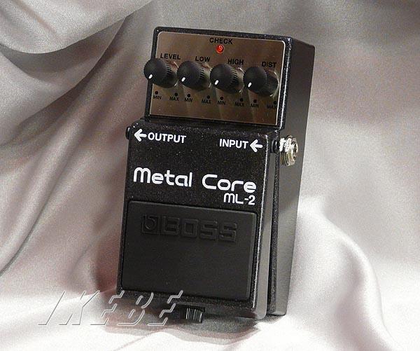 BOSS 《ボス》 ML-2 (Metal Core) 【期間限定★送料無料】【oskpu】 【IKEBE×BOSSオリジナルデザインピックケースプレゼント】