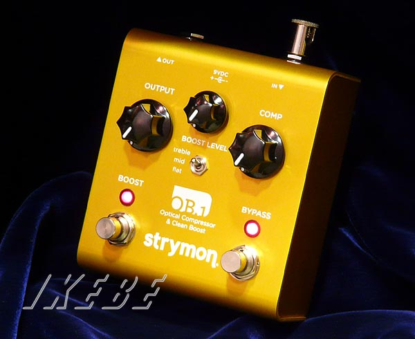 strymon 《ストライモン》 OB.1 【Optical Compressor & Clean Boost】【oskpu】