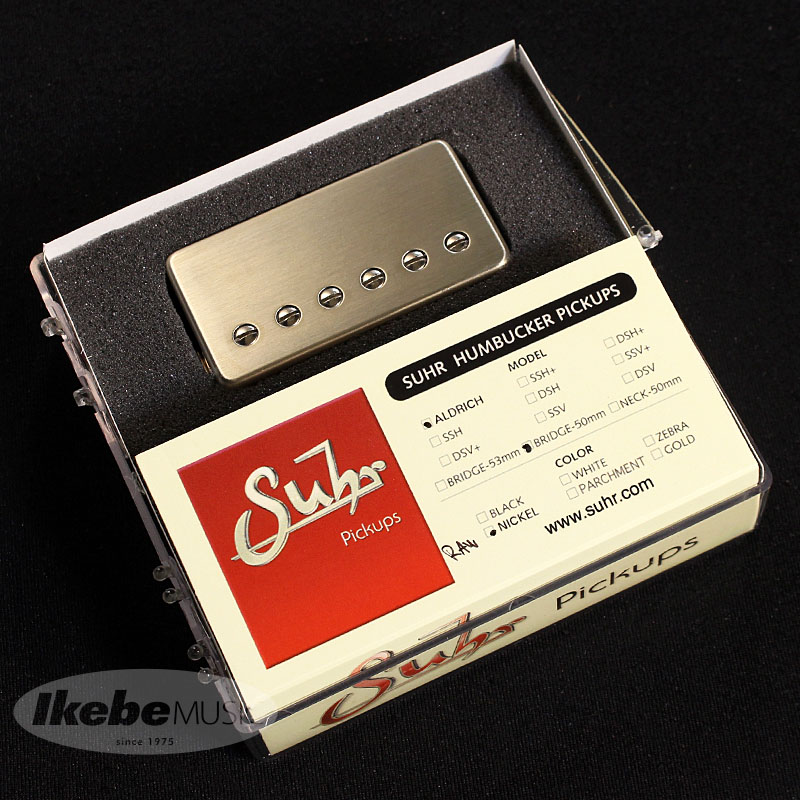 Suhr Guitars 《サー・ギター》Aldrich [Coverd Type](neck/Bridge), U-style  ad6ffc12