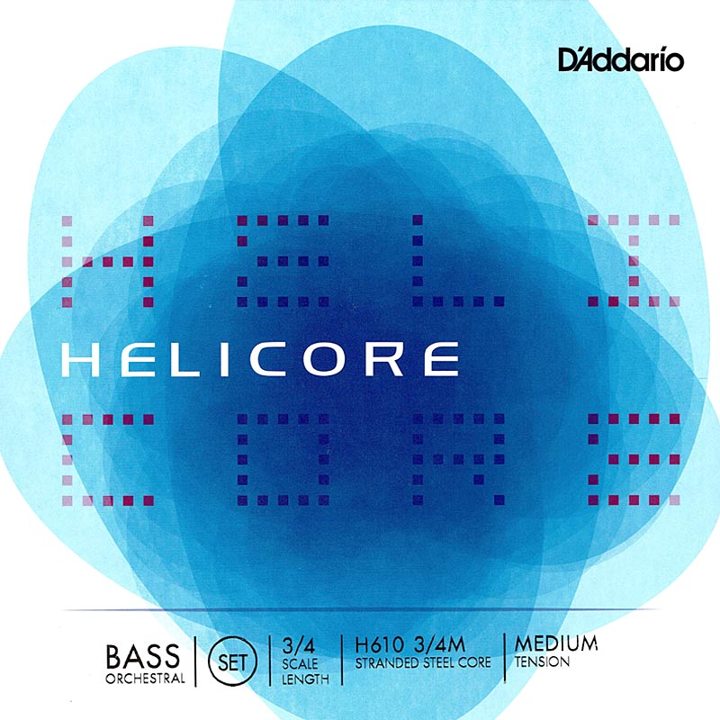 D'Addario 《ダダリオ》Helicore Orchestral Bass Strings [H610]