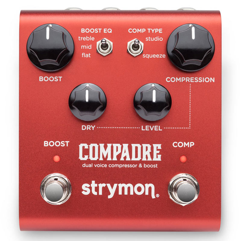 strymon 《ストライモン》COMPADRE [dual voice compressor & boost] 【あす楽対応】【送料無料!】