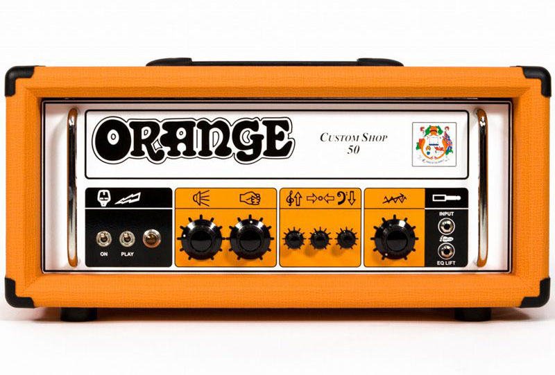 Orange 《オレンジ》Custom Shop 50 【あす楽対応】