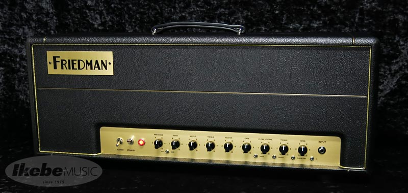 FRIEDMAN 《フリードマン》BE-100 [Brown Eye 100W Head]【Full Option】 w/NEW-OLD SW 【希少再入荷!】