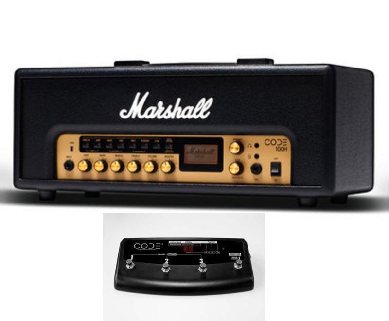 Marshall 《マーシャル》 CODE100H + PEDL-91009 【あす楽対応】【oskpu】