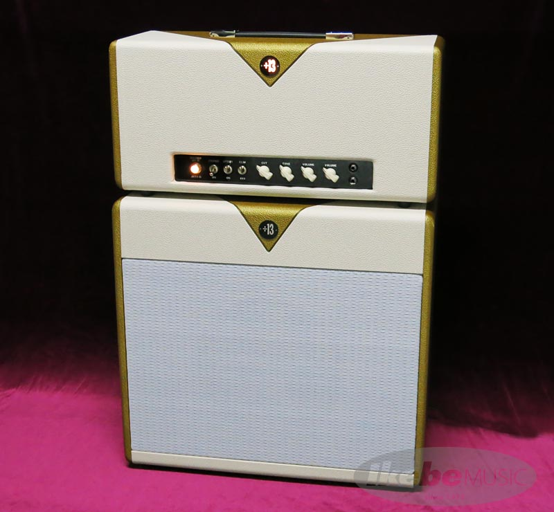 Divided by 13JRT9/15 HEAD w/1x12CAB [Gold and EggTuxedo] 【Divided by 13 オリジナルTシャツ&キャップ&バッグ・プレゼント!】 【あす楽対応】