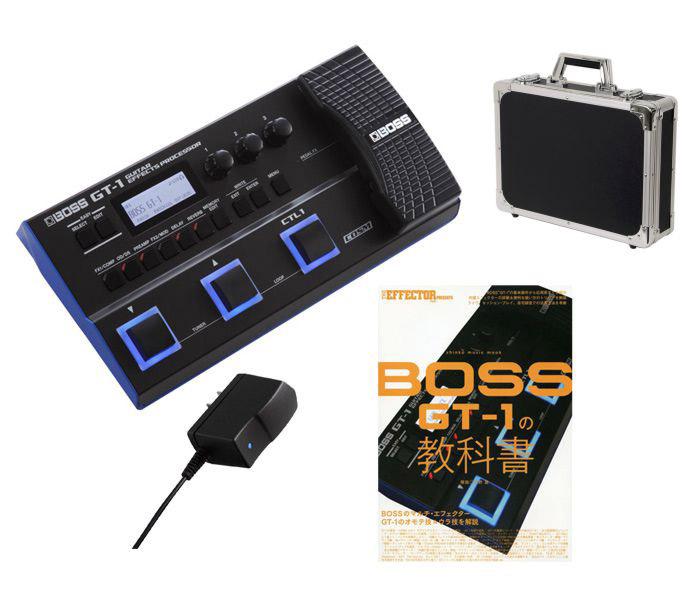 SALE BOSS PSA-100S2 キョーリツEC-45 教科書をセットにしたお買い得セット 《ボス》GT-1 + シンコー ミュージック ムック GT-1の教科書 EFFECTOR PRESENTS 超安い oskpu BOOK セット あす楽対応 送料無料 THE