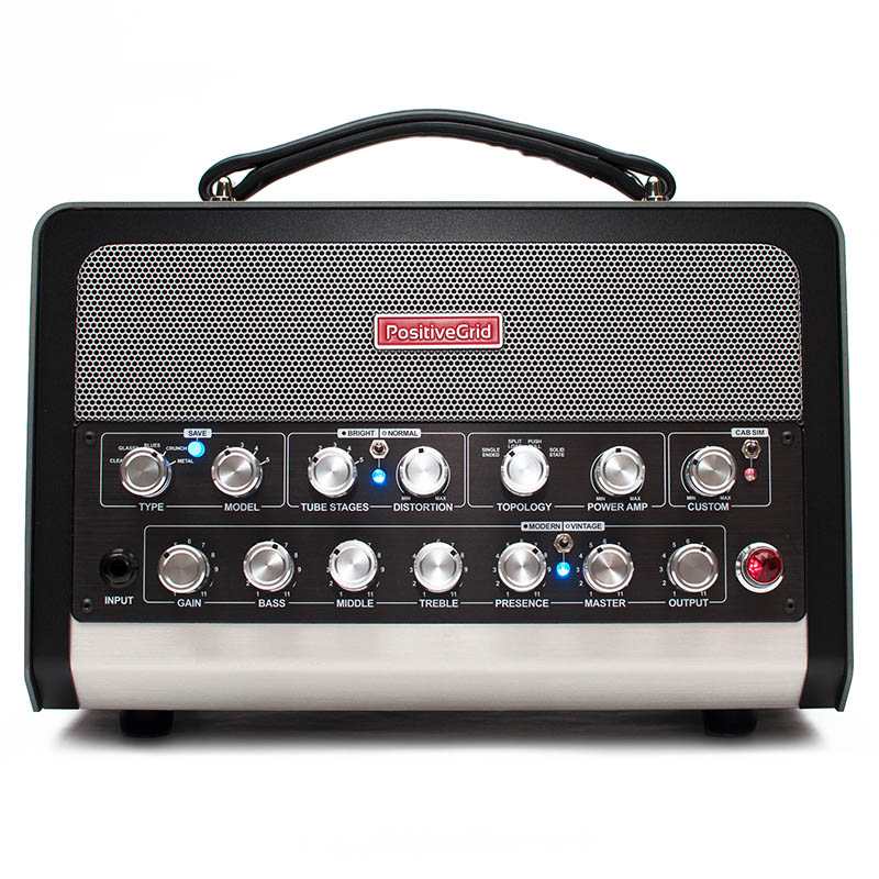 Positive Grid 《ポジティブグリッド》BIAS Head [Amp Match Amplifier]【あす楽対応】