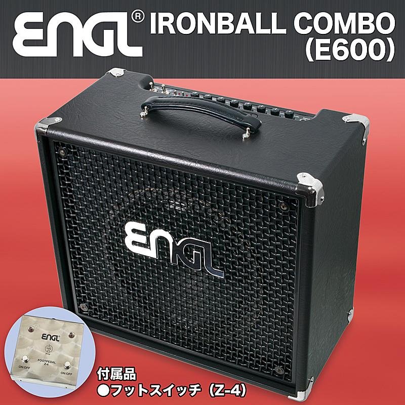 ENGL 《エングル》 IRONBALL COMBO [E600] 【スペシャルプライス+専用フットスイッチ(Z-4)プレゼント!】【あす楽対応】