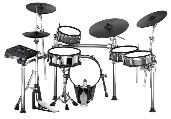 Roland 《ローランド》 TD-50KV [V-Drums Kit] with KD-140-BC [V-Kick] & MDS-STG [Drum Stand]【oskpu】