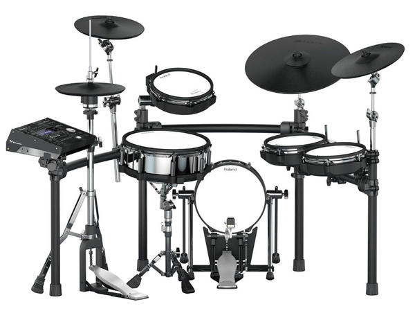 Roland 《ローランド》 TD-50K [V-Drums Kit] with KD-120BK [V-Kick] & MDS-50K [Drum Stand]【oskpu】