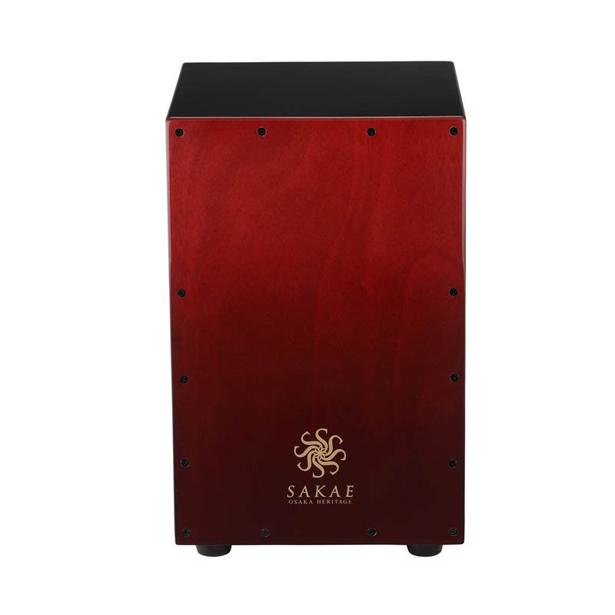 マルチ型カホン CAJ-100W のカラーコンビネーションが登場 SAKAE 品質保証 OSAKA HERITAGE《サカエ大阪ヘリテイジ》CAJ-100W-RDFD Multi-type Combination Cajon 激安特価品 Red Color