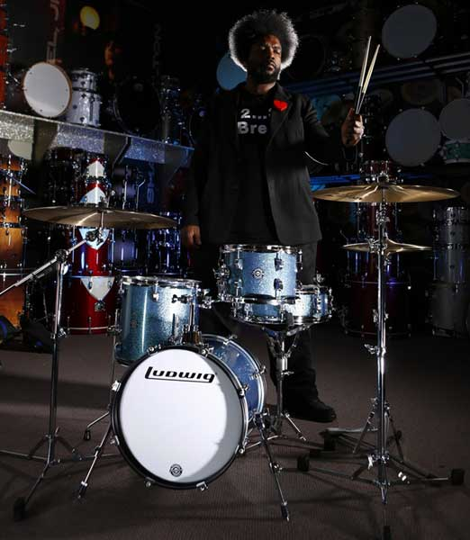 """Ludwig 《ラディック》 LC179X023DIR [BREAKBEATS OUT FIT / AHIMIR """"?UESTLOVE"""" THOMPSON Collaboration]【限定カラー・モデル】"""