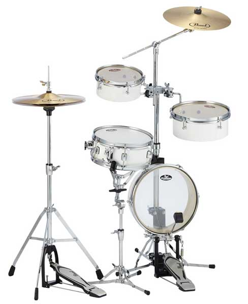 Pearl 《パール》 RT-5124N #33 [Rhythm Traveler Light / ピュアホワイト] 【ドラムスローン&スティック サービス!】