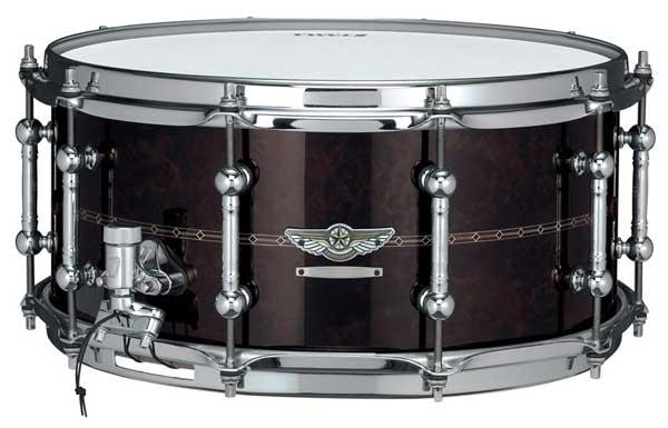 "TAMA《タマ》 ""STAR Reserve Snare Drum #3"" TBWS1465S [WALNUT/BUBINGA]【受注生産モデル:決済お手続き完了後、納期約2~3ヶ月】 ※お取り寄せ商品"