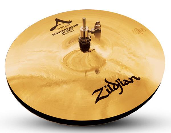 Zildjian/A.Custom 《ジルジャン》 Master Sound Hi Hat 13pr【2枚セット】【数量限定ジルジャンシンバル大特価!】