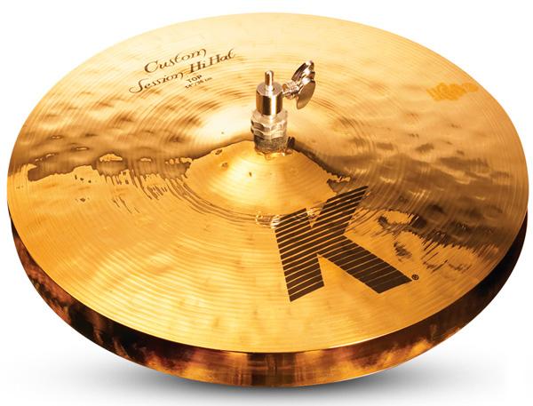 Zildjian/K.Custom 《ジルジャン》 Session Hi Hat 14pr【2枚セット】【数量限定ジルジャンシンバル大特価!】