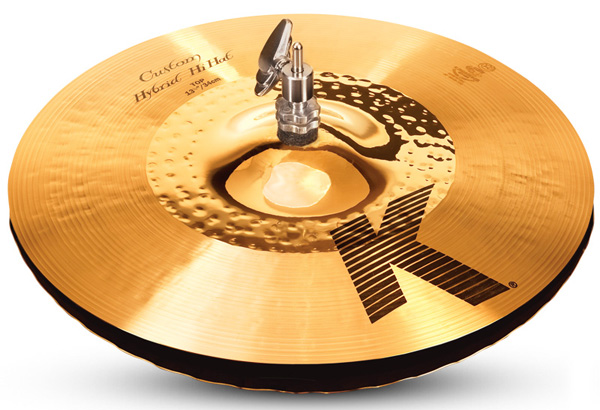 Zildjian/K.Custom 《ジルジャン》 Hybrid Hi Hat 13 1/4 pr【2枚セット】【数量限定ジルジャンシンバル大特価!】