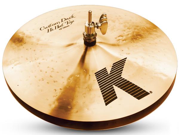 Zildjian/K.Custom 《ジルジャン》 Dark Hi Hat 13pr【2枚セット】