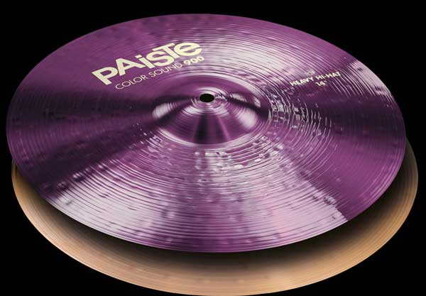 PAiSTe 《パイステ》 Heavy Color Sound 900 Purple Heavy Color HiHat HiHat 14