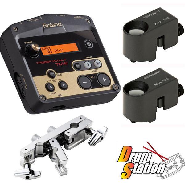 Roland 《ローランド》 TM-2+RT-30K(×2) 【ハイブリッドドラム・パッケージ / ツーバス】【アダプター(Pearl ADP-20)&SDカード(8GB):プレゼント!】【oskpu】