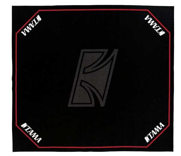 TAMA《タマ》 TDR-TL [ドラムセッティングカーペット ブラック with TAMAロゴ]
