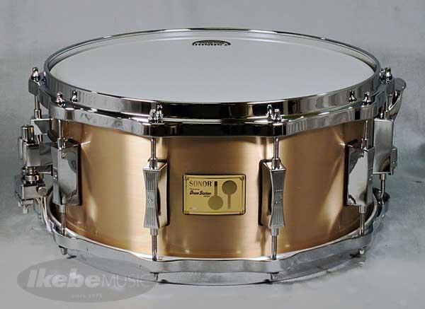 "SONOR 《ソナー》 SSE12-1465BR/C [ Drum Station ""Bell Bronze"" Deep Snare ] 【限定:50台】【展示入れ替え特価品】【スーパー タイムセール 2019】【特価】"