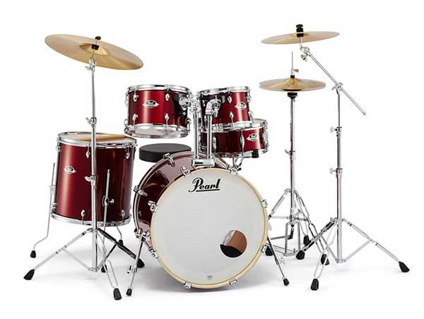Pearl 《パール》 EXX725S/C #760 [EXPORT Series:バーガンディ] 【お取り寄せ品】【バスドラム・マフラー(ミュート)付属】【教則DVDプレゼント!】