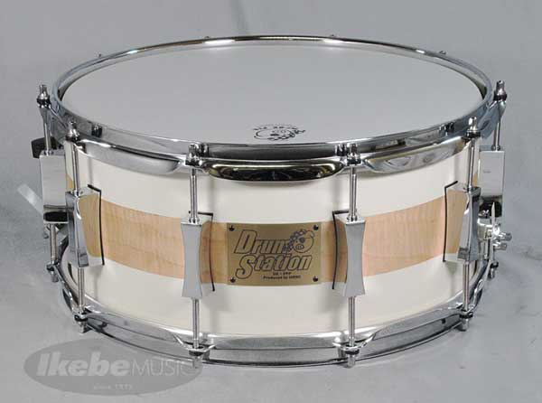 "PORK PIE 《ポークパイ》 """"USA Custom"" Drum Station × Pork Pie Limited Snare Drum [Walnut 8ply 14"
