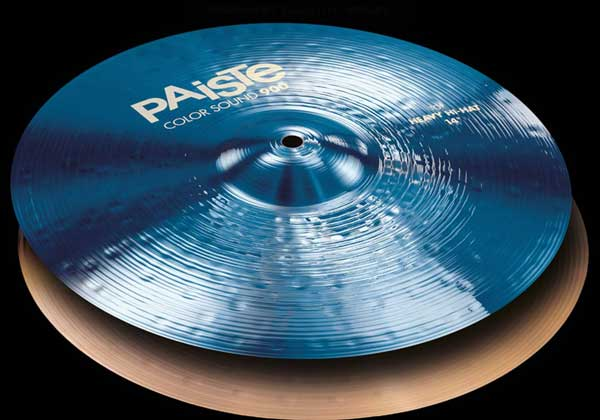 PAiSTe 《パイステ》 Color Sound 900 Blue Heavy HiHat 15