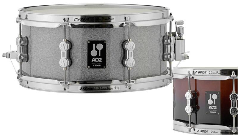 SONOR 《ソナー》 AQ2-1306SDW #BRF [AQ2 Series Maple Snare Drum 13