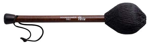 VIC FIRTH《ヴィックファース》 VIC-GB3 [Soundpower Heavy Gong Beater GB3]