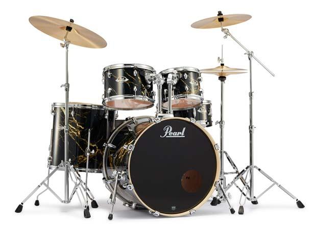 Pearl 《パール》 EXA725S/C #770 Black & Gold Marble [EXPORT Series 数量限定カラーモデル]【教則DVD:サービス!】