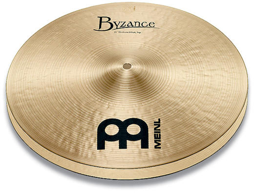 MEINL 《マイネル》 B13MH   [Byzance Traditional / Medium HiHat pr] 【2枚セット】