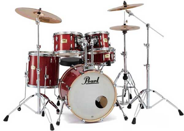 """Pearl 《パール》 SSC905/C-DA #110 Sequoia Red [Session Studio Classic Compact / with SABIAN""""AA""""Cymbal] 【お取り寄せ品】"""