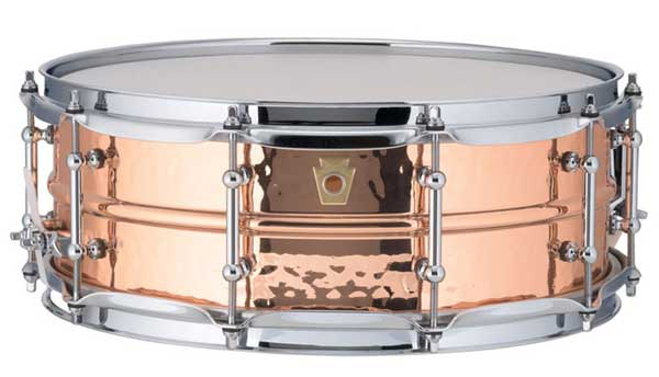 """Ludwig 《ラディック》 LC660KT [Copper Phonic Series / Hammered Shell / Tube Lugs / 14""""×5""""]"""