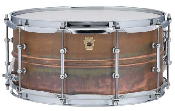 "Ludwig 《ラディック》 LC663T [Copper Phonic Snare Drum / Tube Lugs / 14""×6.5""]"