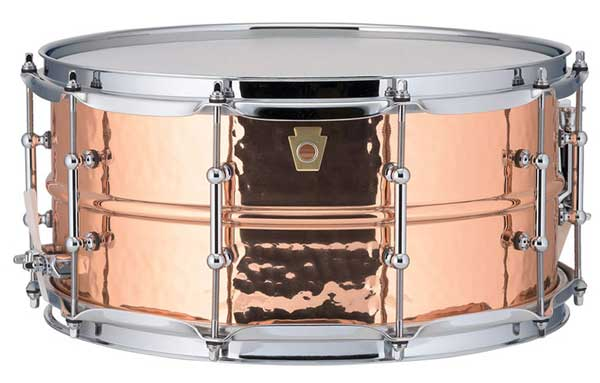 """Ludwig 《ラディック》 LC662KT [Copper Phonic Snare Drum / Hammered Shell / Tube Lugs / 14""""×6.5""""]"""