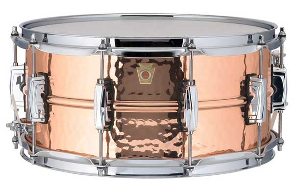 "Ludwig 《ラディック》 LC662K [Copper Phonic Snare Drum / Hammered Shell / 14""×6.5""]"