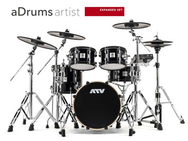 ATV 《エーティーブイ》 aDrums artist EXPANDED SET [ADA-EXPSET] 【aD5(音源)を含むセットアップ】【お取り寄せ品】
