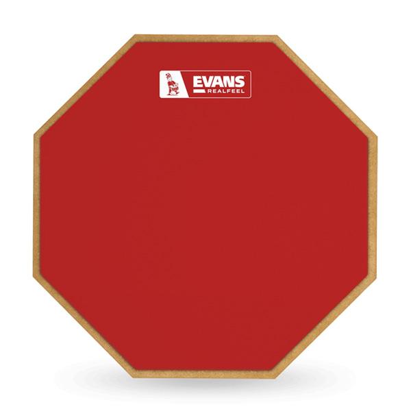授与 プラクティスパッドの大定番 RealFeel 5%OFF のレッドカラーが数量限定で登場 EVANS《エバンス》 RF12G-RED Limited Practice LZ Pad あす楽対応 Red Edition