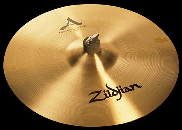 """Zildjian/A.Zildjian 《ジルジャン》 Medium Thin Crash 17"""" [NAZL17CMT]"""