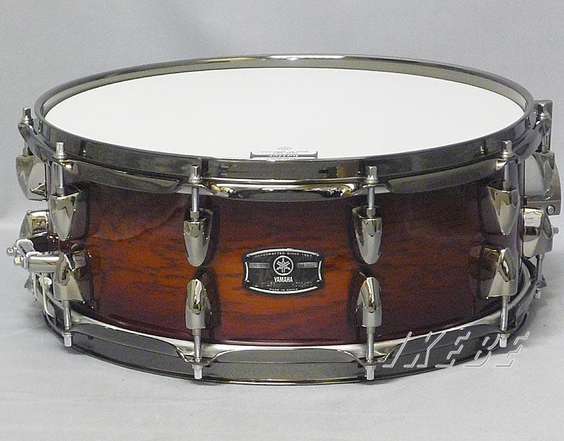 YAMAHA 《ヤマハ》 LNS1455AWS [アンバーシャドーバースト/LIVE CUSTOM Snare Drum]【YAMAHAスネアドラムキャンペーン:プロラケスネアケース&ヤマハレモヘッドがもらえる!(~2019年1月末日まで)】