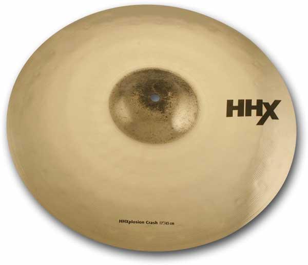 SABIAN 《セイビアン》 HHX-17XPC-B [HHX X-Plosion Crash 17