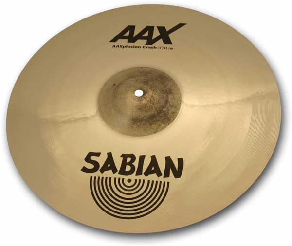 """SABIAN 《セイビアン》 AAX-17XPC-B [AAX X-Plosion Crash 17"""" / Brilliant]"""