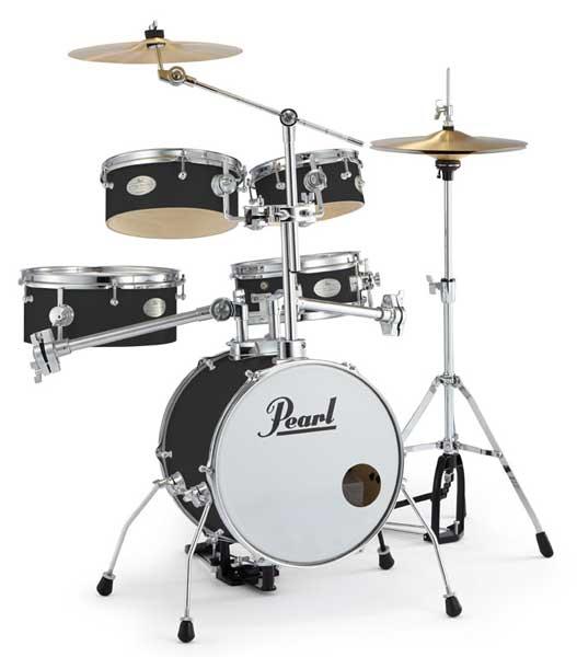 Pearl 《パール》 RT-645N/C #31 [Rhythm Traveler Ver.3S / ジェット・ブラック] 【ドラムスローン&スティック サービス!】