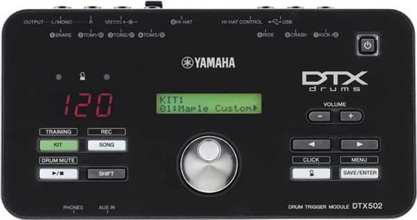 YAMAHA 《ヤマハ》 DTX502 [ドラムトリガーモジュール]【お取り寄せ品】【oskpu】