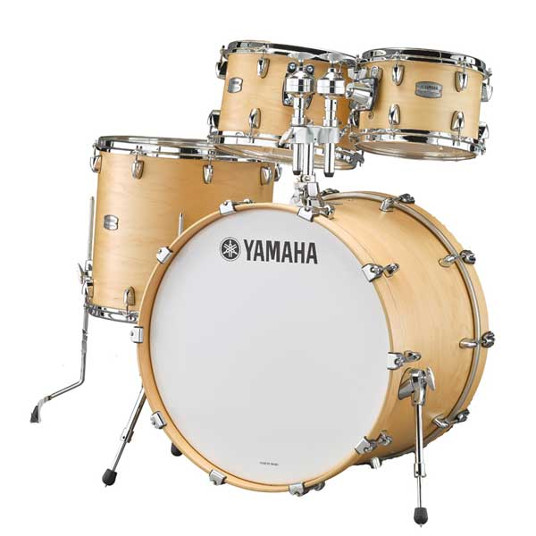 YAMAHA 《ヤマハ》 TMP0F4BTS [Tour Custom / All Maple Shell Drum Kit / BD20, FT14, TT12&10, ダブルタムホルダー付属/ バタースコッチサテン]