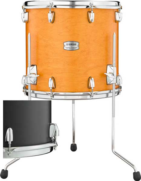 YAMAHA 《ヤマハ》 TMF1413LCS [Tour Custom / All Maple Shell Floor Tom 14