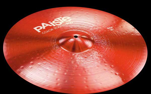PAiSTe 《パイステ》 Color Sound 900 Red Heavy Ride 20