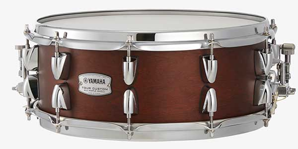 YAMAHA 《ヤマハ》 TMS1455CHS [Tour Custom / All Maple Shell Snare Drum / 14